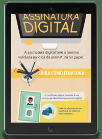 infografico assinatura digital